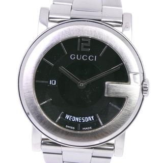 グッチ(Gucci)のアナログ表示グッチ Gクロノ コレクション デイデイト  101M  ステンレ(腕時計(アナログ))