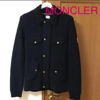 MONCLER - ☆ MONCLER ☆  ガムブルー ニットカーディガン/ジャケット