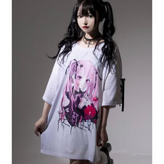 ミルクボーイ(MILKBOY)の『REFLEM/レフレム』REFLEM×negi コラボ Tシャツ ピンク(Tシャツ(半袖/袖なし))