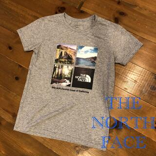 THE NORTH FACE - the north face 分割フォトTシャツ ロゴ ノースフェイス
