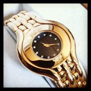エムシーエム(MCM)のMCM*ゴールド腕時計*美品(腕時計)