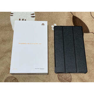 ファーウェイ(HUAWEI)のmediapad m5 lite 8 LTE simフリーモデル(タブレット)