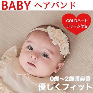 ベビーヘアバンド 赤ちゃんヘアバンド ニューボンフォト 子供髪飾り 花