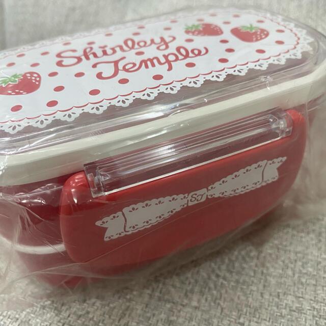 Shirley Temple(シャーリーテンプル)の【未開封】Shirley Temple*お弁当箱/ランチボックス エンタメ/ホビーのコレクション(ノベルティグッズ)の商品写真