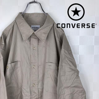 コンバース(CONVERSE)の希少 コンバース XXXXL 超ビッグサイズ 長袖 シャツ(シャツ)