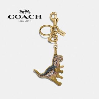 コーチ(COACH)の【新品】COACH コーチ バッグチャーム REXY レキシー 恐竜 キャンパス(キーホルダー)