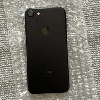 Apple - iPhone 7 ブラック 32G
