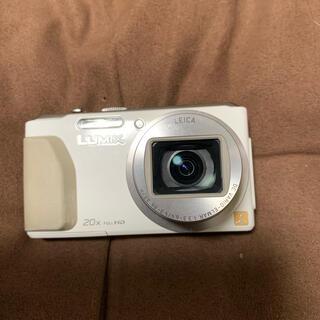 パナソニック(Panasonic)のパナソニック DMC-TZ40【赤外線カメラ】ホワイト(コンパクトデジタルカメラ)
