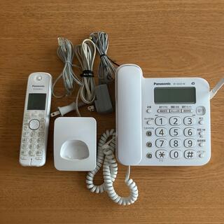 Panasonic - Panasonic VE-GD 23-W 中古 電話機