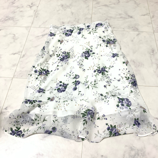 dholic - マーメイドフラワースカート