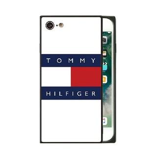 トミーヒルフィガー(TOMMY HILFIGER)のトミーヒルフィガー ガラスケース iPhoneケース  v623u(iPhoneケース)