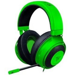 プレイステーション4(PlayStation4)のKraken グリーン ゲーミングヘッドセット(ヘッドフォン/イヤフォン)