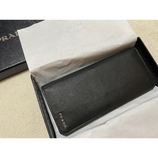 プラダ(PRADA)の【値下げ中!】PRADA サフィアーノ レザー 財布 メンズ(長財布)