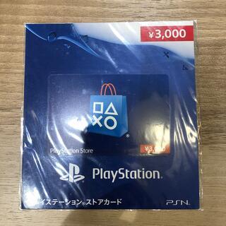 プレイステーション(PlayStation)のplaystaionストアカード 3000(その他)