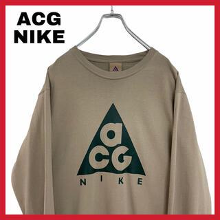 ナイキ(NIKE)のACG NIKE ナイキ ロンT 長袖 ビッグプリント 本田翼着用(Tシャツ/カットソー(七分/長袖))