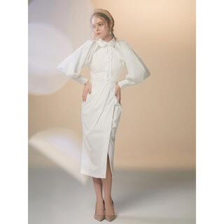 eimy istoire - 新品 eimy ボレロ セット 2way シャツ ワンピース ホワイト