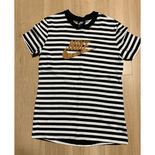 ナイキ(NIKE)のNIKE ボーダーTシャツ 美品(Tシャツ/カットソー(七分/長袖))