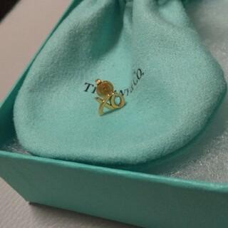 Tiffany & Co. - Tiffany ピアス 18k ローズゴールド