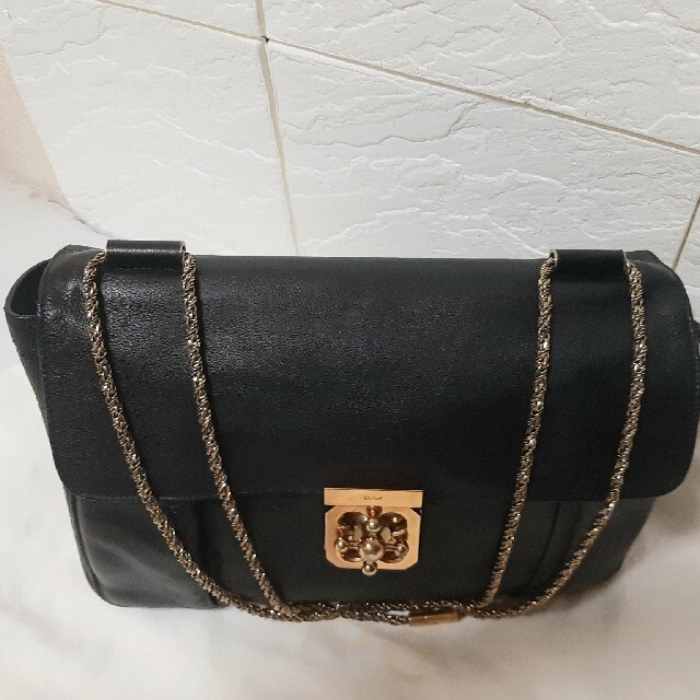 Chloe(クロエ)の【美品売り切 最終値下げ】chloe エルシー チェーンショルダーバッグ クロエ レディースのバッグ(ショルダーバッグ)の商品写真