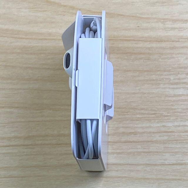 iPhone(アイフォーン)の純正品 新品 iPhone イヤホン iPhoneの付属品から抜いたものです。 スマホ/家電/カメラのスマートフォン/携帯電話(スマートフォン本体)の商品写真