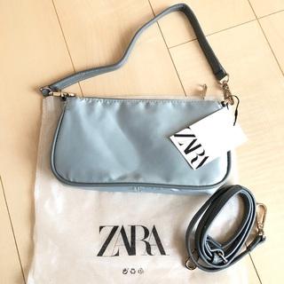 ZARA - zara    サテン風ショルダーバッグ ザラ 新品未使用