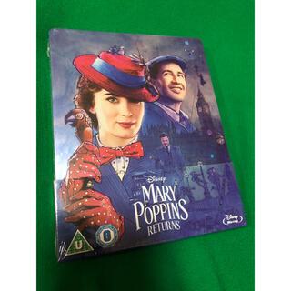 ディズニー(Disney)のMary Poppins returns スチールブック UK限定(外国映画)
