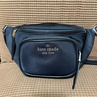 kate spade new york - 本日限定価格 ケイトスペード  ウエストポーチ ボディバッグ 黒 ブラック