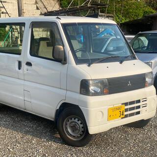 ミツビシ(三菱)の三菱 ミニキャブバン マニュアル車(車体)