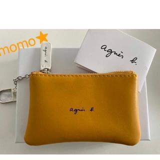 agnes b. - 新品 アニエスベー agnes b. コインケース キーケース ポーチ 黄色