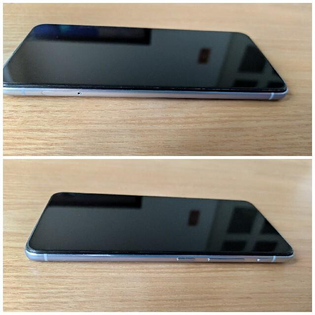 ASUS(エイスース)のZenfone6 128G トワイライトシルバー SIMフリー スマホ/家電/カメラのスマートフォン/携帯電話(スマートフォン本体)の商品写真