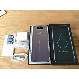 ASUS - Zenfone6 128G トワイライトシルバー SIMフリー