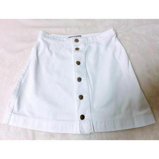 アメリカンアパレル(American Apparel)の【新品】American   apparel   アメアパ デニムミニスカート(ミニスカート)