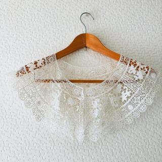 シーニューヨーク(Sea New York)のvintage cotton lace collar nude vintage (つけ襟)