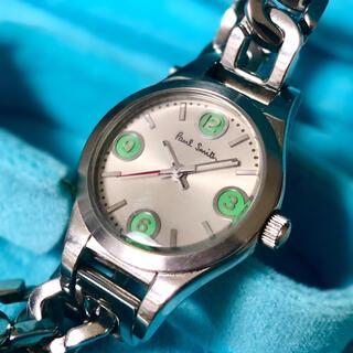 美品 ポールスミス チェーン腕時計 シルバー(腕時計)