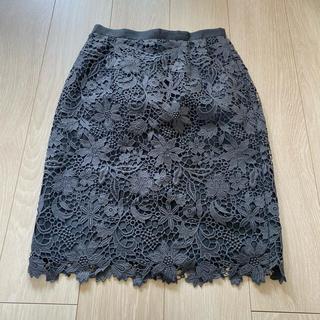 JUSGLITTY - sale!フラワータイトスカート♡ジャスグリッティー