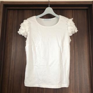 アベニールエトワール(Aveniretoile)の新品同様♡Aveniretoile  袖デザインカットソー(カットソー(半袖/袖なし))