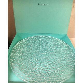 Tiffany & Co. - ティファニー Tiffany クリスタルガラス 皿 プレート