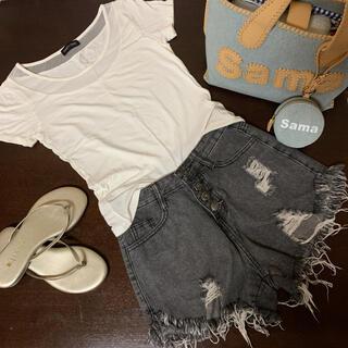 Tシャツ ホワイト(Tシャツ(半袖/袖なし))