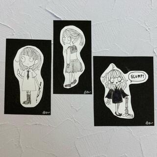 ミニ原画カード 3点セット(アート/写真)