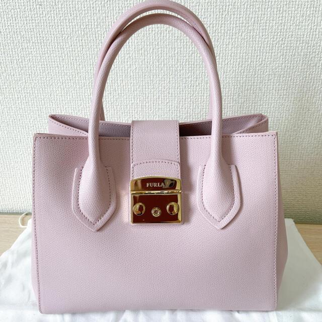 Furla(フルラ)の新品 FURLA フルラ メトロポリス ピンク ハンドバッグ ショルダーバッグ レディースのバッグ(ショルダーバッグ)の商品写真