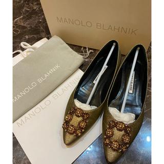 MANOLO BLAHNIK - マノロブラニク ハンギシ 38美品