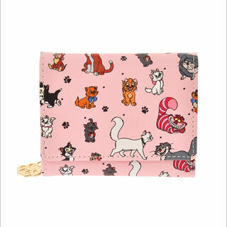 ディズニー(Disney)の<新品>ディズニー猫キャラクター 財布・ウォレット ディズニーストア(キャラクターグッズ)