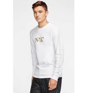 ナイキ(NIKE)のNike ロンT NYC ニューヨーク 長袖 ロングスリーブシャツ(Tシャツ/カットソー(七分/長袖))