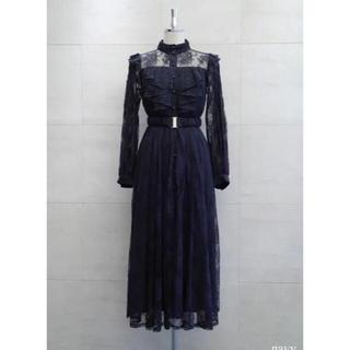スナイデル(snidel)のherlipto Winter Lace Belted Long Dress(ロングワンピース/マキシワンピース)