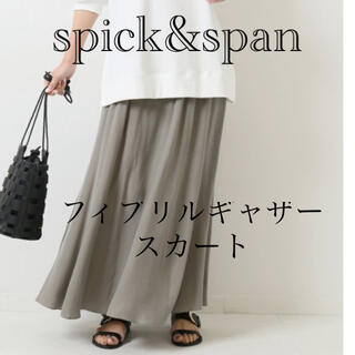 Spick and Span - spick&span フィブリルギャザースカート