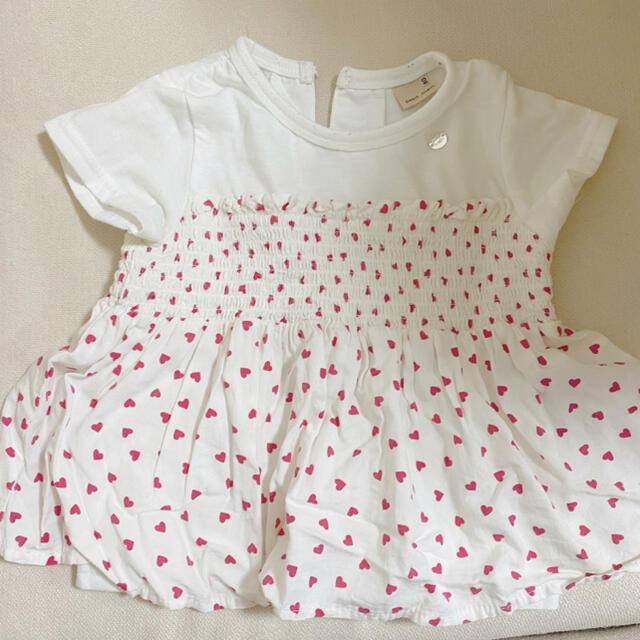 petit main(プティマイン)のプティマイン80センチ キッズ/ベビー/マタニティのベビー服(~85cm)(Tシャツ)の商品写真
