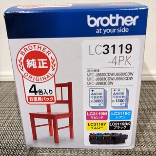 brother - ブラザー brother  純正インクカートリッジ LC3119-4PK