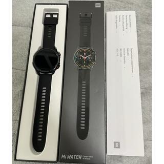 Xiaomi mi watch 美品 ブラック