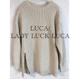 ルカ(LUCA)のルカ LADY LUCK LUCA サマーニット(ニット/セーター)