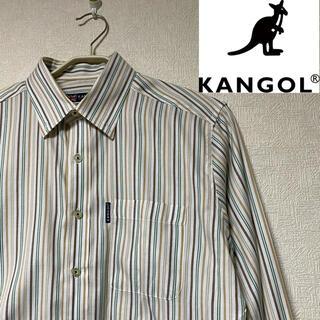カンゴール(KANGOL)のカンゴール KANGOL ストライプ シャツ M(シャツ)